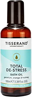 Tisserand Total De-Stress Bath Oil, 100 ml