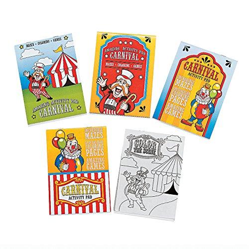 Fun Express - Carnival Activity Pad - Stationery - Activity Books - Activity Books - 12 Pieces