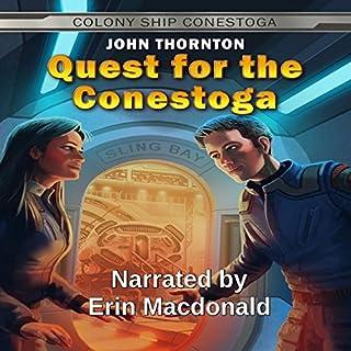 Quest for the Conestoga audiobook cover art