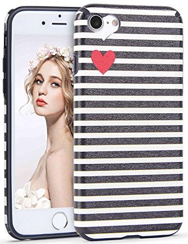 Imikoko iPhone 6 6S Hülle, iPhone 6 6S R&umschutz Handy Hülle Schutzhülle Weich Silikon TPU Hülle Super Sweet Cute für Girl Frauen Mädchen