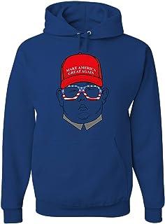 Tee Hunt Maga Hat Kim Jong Un Hoodie Funny North Korea USA Donald Trump Sudadera