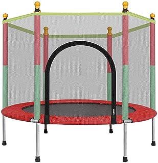 MAOWAO Trampolín para niños, Trampolín con almohadilla de