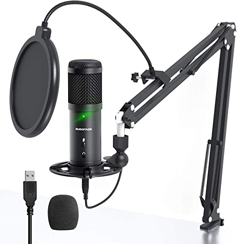 SUDOTACK USB Microphone for PS4