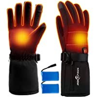 ROCKPALS Electric Heated Unisex Gloves with Battery (X-Large)
