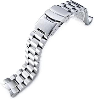 20mm Endmill Watch Band Replacement for Seiko Sumo Sbdc001, Sbdc003 & Sbdc005, Brushed