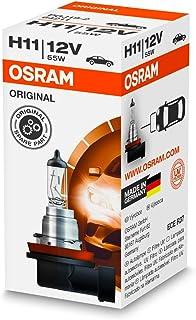 OSRAM OS64211 Original Line 12V, H11, halogeen koplamp, kartonnen vouwdoos (1 lamp), oranje