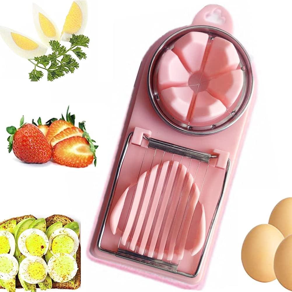 Max 46% OFF Egg Slicer Boiled Cutter New item Dicer Ki Multifunctional