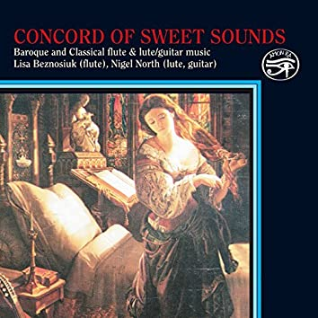 Concord of Sweet Sound for Lute, Flute & Guitar