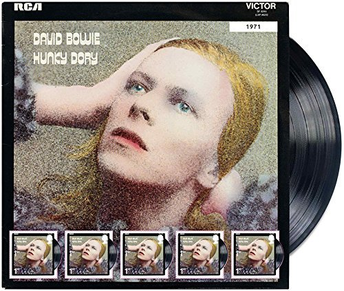 2017edición limitada David Bowie–Hunky Dory Ventilador hoja–Royal Mail sellos