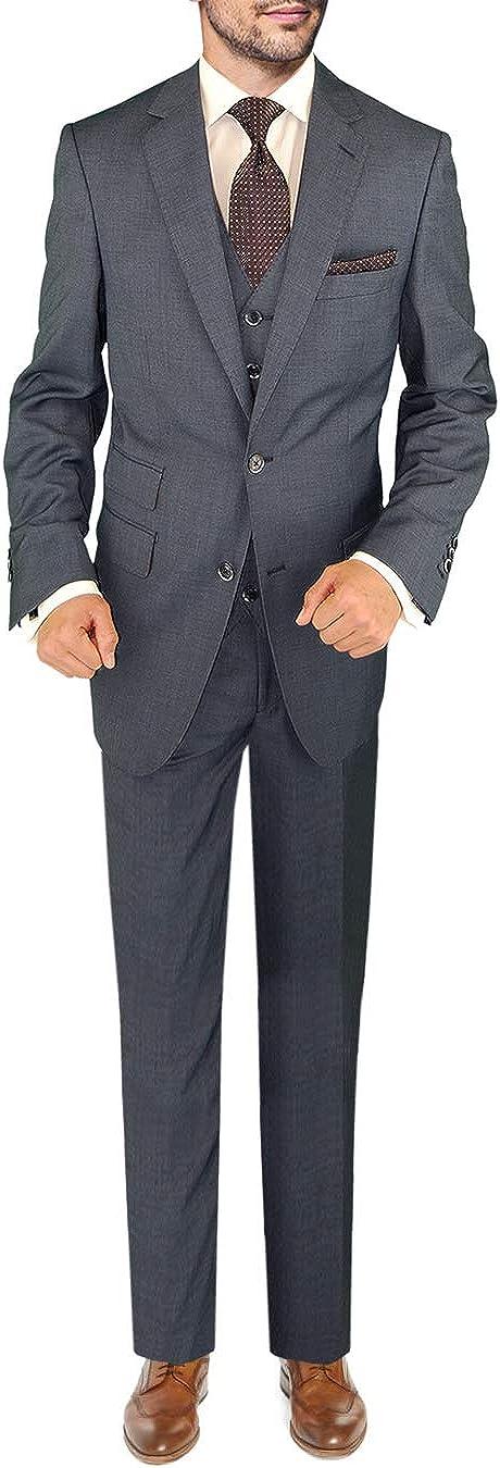 DTI BB service Signature Italian Wool Vested Jacket 3 Men's Piece Popularity Suit S