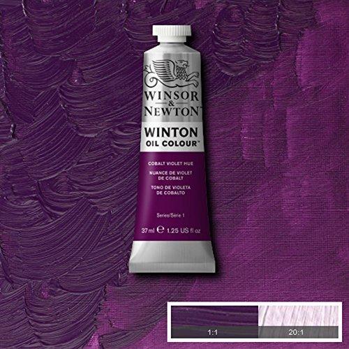 Winsor & Newton Winton Oil Paint Tube Artist Art 37ml & 200ml ALL COLOURS (Cobalt Violet Hue, 37ml)