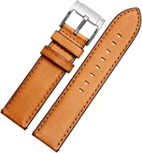 Choco&Man US Timex Calfskin Leather Watch Band Straps Watch Width 20mm 22mm Replacement for Men's Fossil (FS5088 FS5380) T...