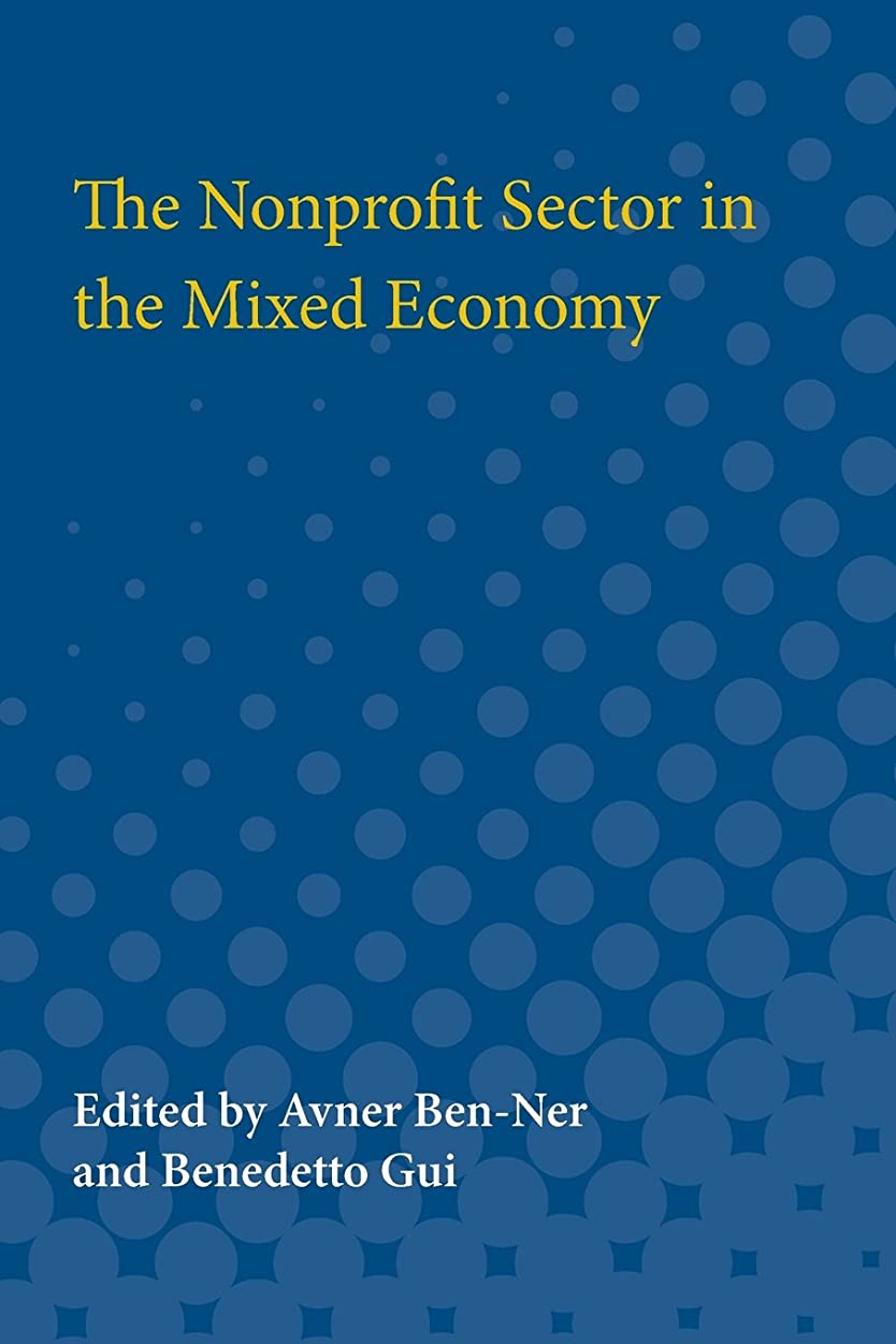 The Nonprofit Sector in the Mixed Economy