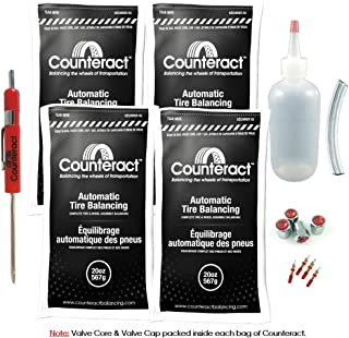 Counteract DIYK-20 Tire Balancing Beads Truck/Off-Road/Commercial/Bus/RV - 20oz DIY Kit (80oz)