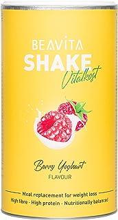 Diät Shake Himbeer Joghurt – 572g Dose – Mahlzeitersatz reicht für 10..