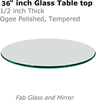 Best ogee edge glass Reviews