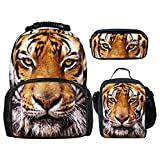 showudesigns - Mochila infantil Multicolor Tiger Head Sets