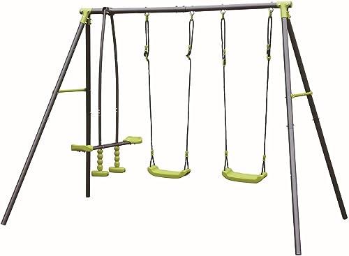 ARrotinITALY Schaukelwippe 2 Sitzer + Staffelei für Kinder