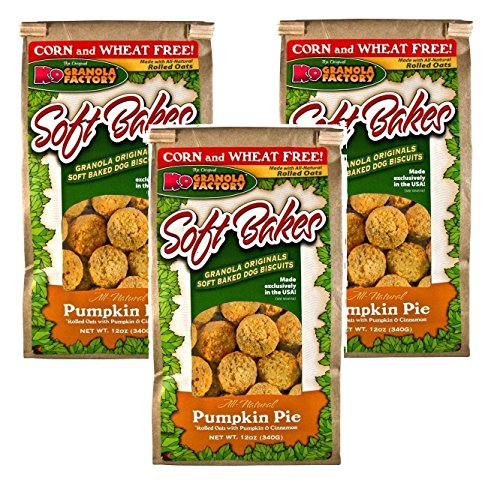 K9 Granola Factory Soft Bakes Pumpkin Pie (Pack of 3)