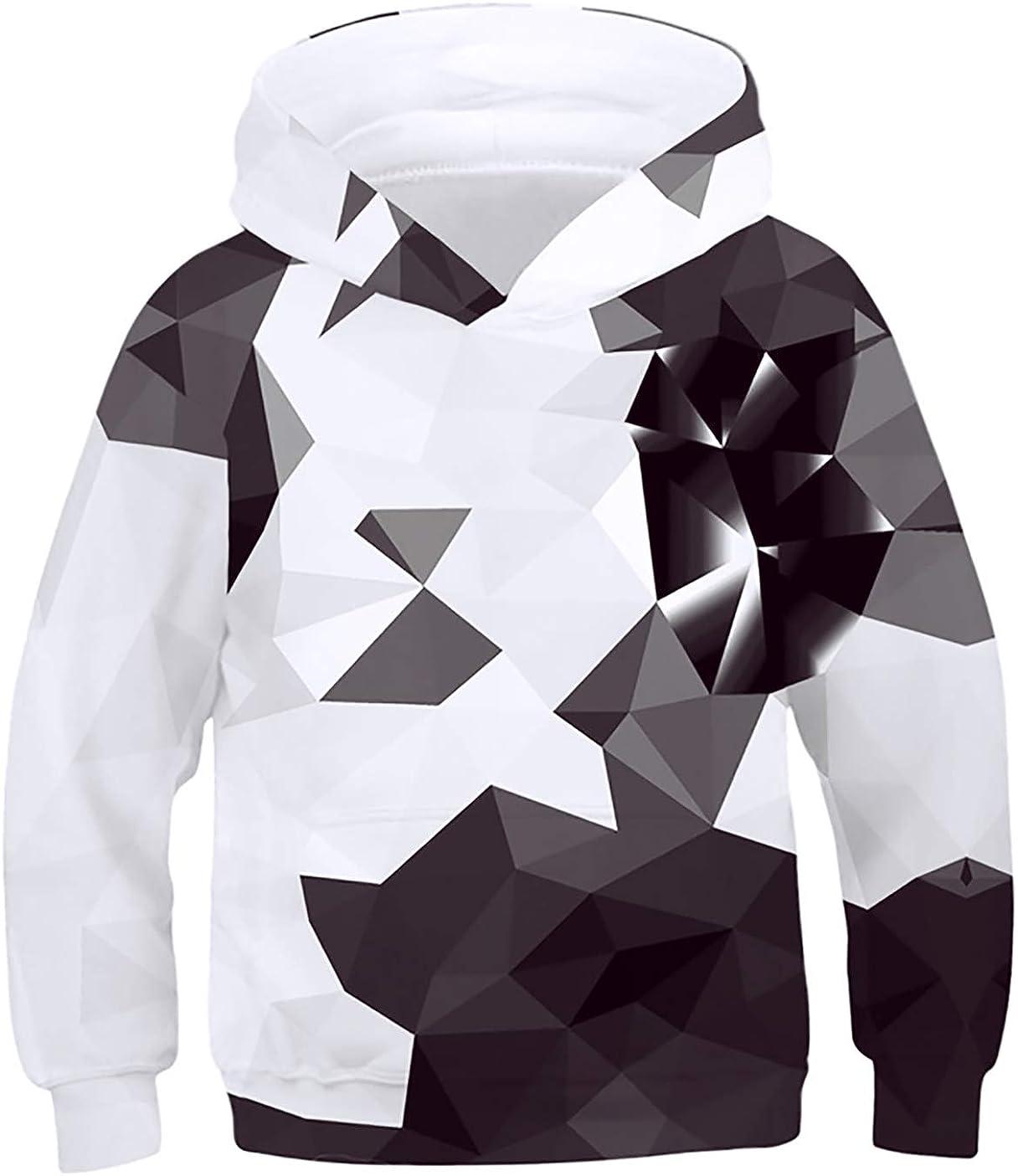 TUONROAD Kids Boys Girls Graphic Overseas parallel import regular item Pullover trust Swea Shark Cat Hoodies