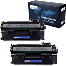 OfficeWorld 05A CE505A Compatible Toner Cartridge Replacement for HP 05A CE505A (Black, 2-Packs), Work with LaserJet P2035 P2055dn P2035n P2055d P2055x Printer