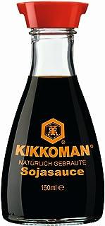 Salsa de soja KIKKOMAN, paquete de 3 (3 x 150 ml)
