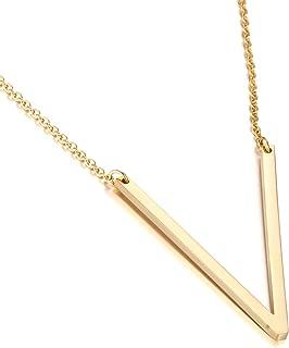 v shaped necklace