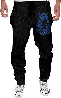 Men I Believe Funny Bigfoot Casual Sweatpants