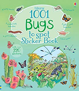 1001 Bugs to Spot Sticker Book (1001 Things to Spot Sticker Books)