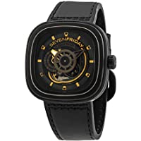 Sevenfriday P-Series Men's Leather Watch (P2B/02)