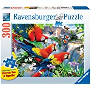 Ravensburger Tropical Birds Large Format 300 Piece Jigsaw Puzzle for Adults – Every Piece is Unique, Softclick Technology Means Pieces Fit Together Perfectly
