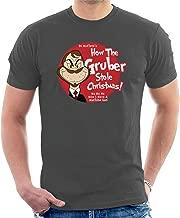 Die Hard Dr Seuss Gruber Grinch Men's T-Shirt