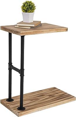 Tavolino da caff/è ZR- Divano Side End Table Workstation Portatile del Sof/à del Letto Accanto,15.7x12.5x23.6 Mobilia Tabella A Forma di C Supporto per Laptop