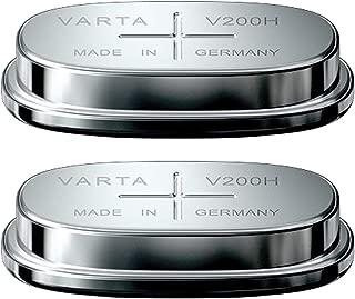 2x Varta V200H 1.2V 200mAh NiMH Button Cell Battery 55620101501 FAST USA SHIP