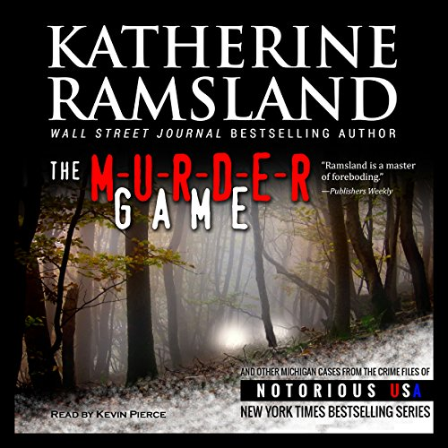 The Murder Game (Michigan, Notorious USA) audiobook cover art