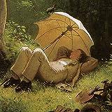 1art1 Carl Spitzweg - Der Maler Auf Einer Waldlichtung,