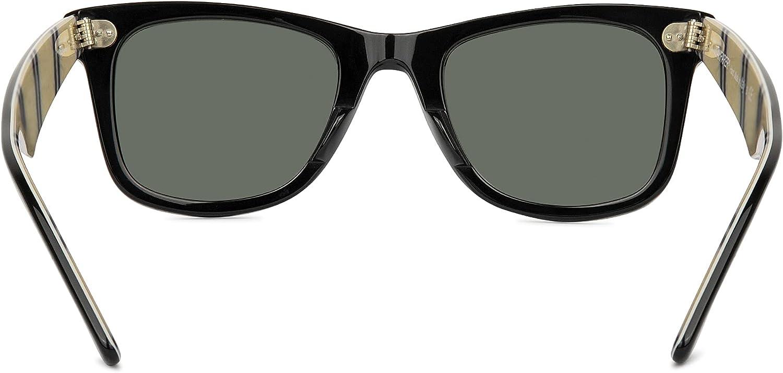 Ray-Ban RB2140 Original Wayfarer Sunglasses + Vision Group Accessories Bundle