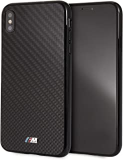 CG Mobile iPhone Xs Max Case Black Carbon Fiber Hard Cell Phone Case with M Logo | Easily Accessible Ports | Officially Li...