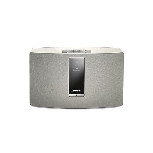 Enceinte sans Fil (Bluetooth/Wi-FI) Bose SoundTouch 20 Série III avec tous les appareils avec Amazon Alexa intégré - Blanc
