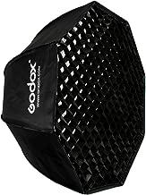 Godox SB-UE 80 cm/31.5 in Paraguas Softbox portátil plegable Octagon de nido de abeja grigliacon Bowens Mount para Speedlite