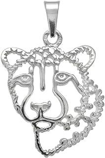 Pendentif Panth/ère or 333 Lion Chat Volant Jaguar Gu/épard 8 Carats or Jaune