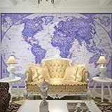 Papel Pintado,Papel Tapiz Mural 4D Personalizado,Púrpura Sofá Tv Mapa Del Mundo De La Pintura De La Pared De Fondo De Gran Tamaño Hd Wall Papers Arte Imprimir Imagen De Póster Para El Salón A La
