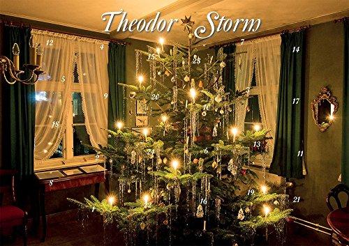 Mit Theodor Storm durch den Advent: Historischer Weihnachtsschmuck und Zitate (Edition Weihnachtshaus)