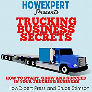 Trucking Business Secrets audiobook cover art