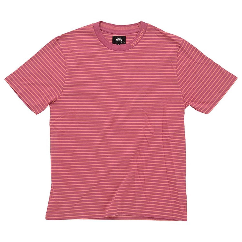 【ステューシー】 STUSSY Jack Stripe Crew 1140082 BERR メンズ 半袖 Tシャツ ボーダー ストライプ 【並行輸入品】
