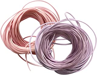 HOMYL Round Waxed Nylon Rope Cord Necklace Thread Wire Jewelry Handcrafts DIY 20m