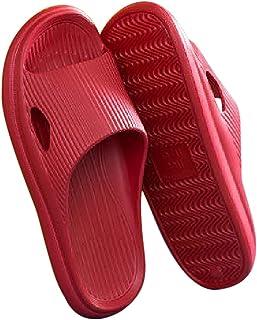 Fansport Shower Slides Slippers Non-Slip Waterproof Reusable Unisex Soft Bath Slippers Spa Hotel Slippers