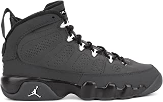 Air Jordan 9 Retro BG 302359-013 Anthracite/White/Black Kids Basketball Shoes (size 4)