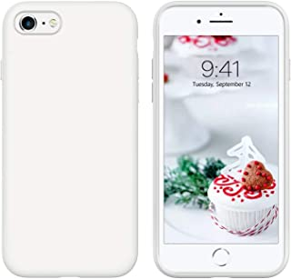 iPhone 6S / iPhone 6 Case, Liquid Silicone Case Gel Rubber Shockproof Slim Shell with Soft Microfiber Cloth Lining Cushion...