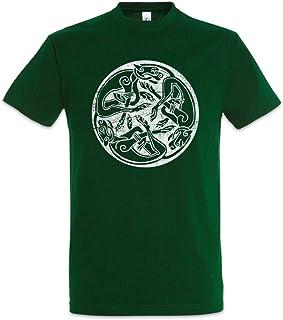 Urban Backwoods Celtic Dogs Camiseta De Hombre T-Shirt